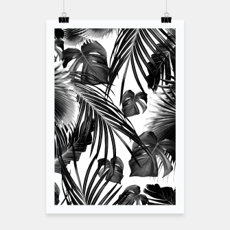 Thumbnail image of Tropical Jungle Leaves Dream #11 #tropical #decor #art Plakat, Live Heroes