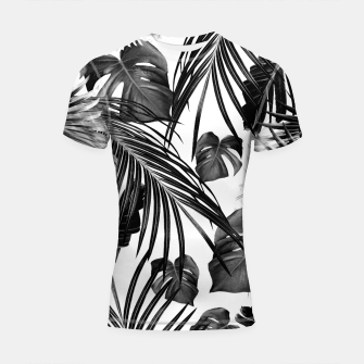 Thumbnail image of Tropical Jungle Leaves Dream #11 #tropical #decor #art Shortsleeve rashguard, Live Heroes