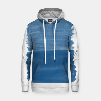Miniaturka Classic Blue Abstract Minimalism #1 #minimal #ink #decor #art Kapuzenpullover, Live Heroes