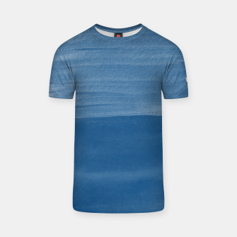 Miniaturka Classic Blue Abstract Minimalism #1 #minimal #ink #decor #art T-Shirt, Live Heroes