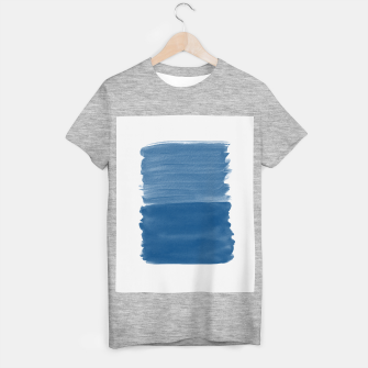 Miniaturka Classic Blue Abstract Minimalism #1 #minimal #ink #decor #art T-Shirt regulär, Live Heroes
