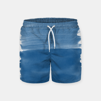 Miniaturka Classic Blue Abstract Minimalism #1 #minimal #ink #decor #art Badeshorts, Live Heroes