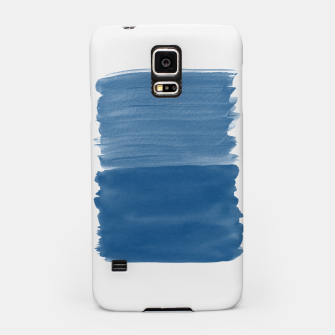Miniaturka Classic Blue Abstract Minimalism #1 #minimal #ink #decor #art Handyhülle für Samsung, Live Heroes