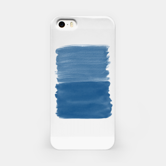 Miniaturka Classic Blue Abstract Minimalism #1 #minimal #ink #decor #art iPhone-Hülle, Live Heroes