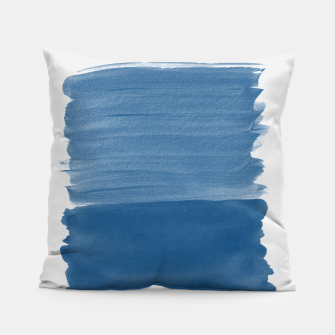 Miniaturka Classic Blue Abstract Minimalism #1 #minimal #ink #decor #art Kissen, Live Heroes