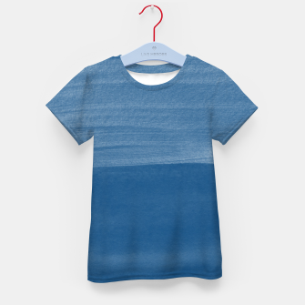 Miniaturka Classic Blue Abstract Minimalism #1 #minimal #ink #decor #art T-Shirt für kinder, Live Heroes