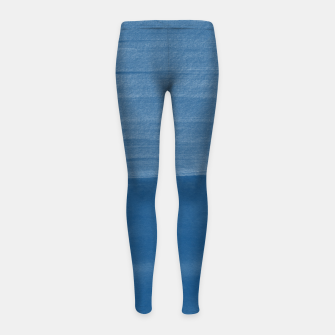 Miniature de image de Classic Blue Abstract Minimalism #1 #minimal #ink #decor #art Kinder-Leggins, Live Heroes