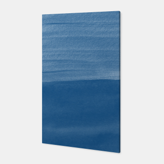 Miniature de image de Classic Blue Abstract Minimalism #1 #minimal #ink #decor #art Canvas, Live Heroes