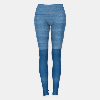 Miniaturka Classic Blue Abstract Minimalism #1 #minimal #ink #decor #art Leggings, Live Heroes