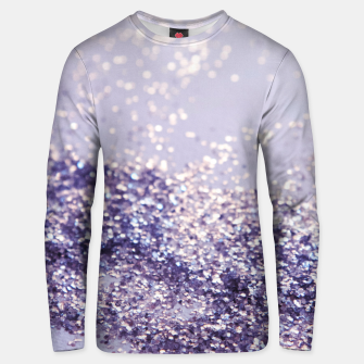 Miniature de image de Lilac Mermaid Magic Glitter #1 (Faux Glitter) #shiny #decor #art Unisex sweatshirt, Live Heroes