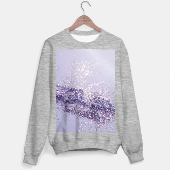 Miniature de image de Lilac Mermaid Magic Glitter #1 (Faux Glitter) #shiny #decor #art Sweatshirt regulär, Live Heroes