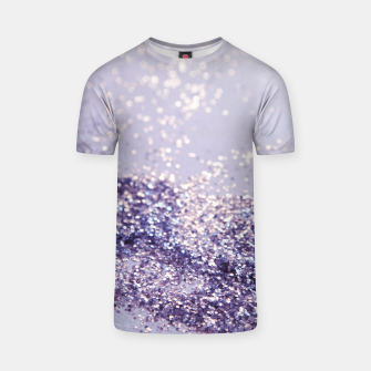 Miniature de image de Lilac Mermaid Magic Glitter #1 (Faux Glitter) #shiny #decor #art T-Shirt, Live Heroes