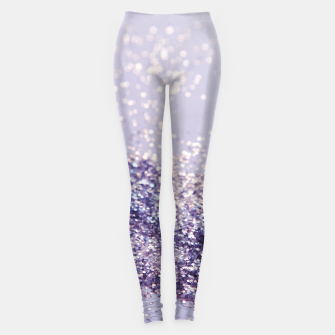 Miniature de image de Lilac Mermaid Magic Glitter #1 (Faux Glitter) #shiny #decor #art Leggings, Live Heroes