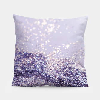 Miniature de image de Lilac Mermaid Magic Glitter #1 (Faux Glitter) #shiny #decor #art Kissen, Live Heroes