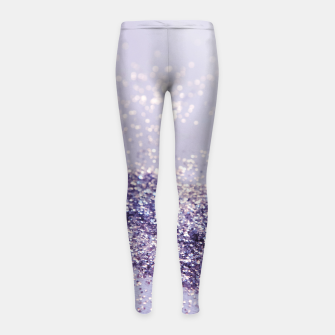 Miniaturka Lilac Mermaid Magic Glitter #1 (Faux Glitter) #shiny #decor #art Kinder-Leggins, Live Heroes