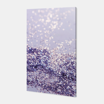 Miniature de image de Lilac Mermaid Magic Glitter #1 (Faux Glitter) #shiny #decor #art Canvas, Live Heroes
