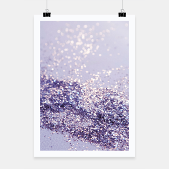 Miniature de image de Lilac Mermaid Magic Glitter #1 (Faux Glitter) #shiny #decor #art Plakat, Live Heroes