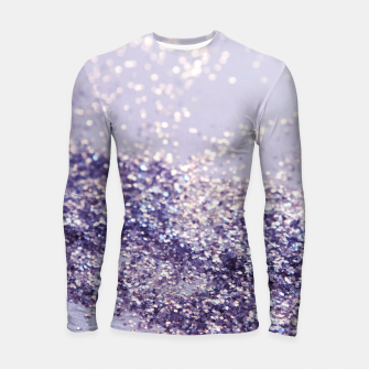 Miniature de image de Lilac Mermaid Magic Glitter #1 (Faux Glitter) #shiny #decor #art Longsleeve rashguard, Live Heroes