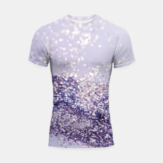 Miniaturka Lilac Mermaid Magic Glitter #1 (Faux Glitter) #shiny #decor #art Shortsleeve rashguard, Live Heroes