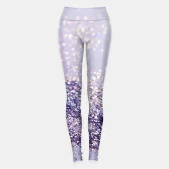 Miniaturka Lilac Mermaid Magic Glitter #1 (Faux Glitter) #shiny #decor #art Leggings, Live Heroes