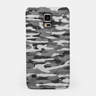 Thumbnail image of Grey Camouflage Pattern Mosaic Style Handyhülle für Samsung, Live Heroes