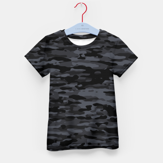 Thumbnail image of Night Camouflage Pattern  T-Shirt für kinder, Live Heroes