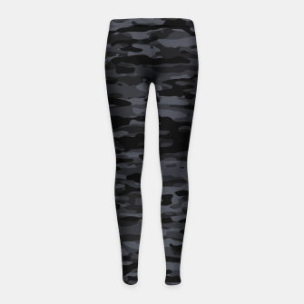Thumbnail image of Night Camouflage Pattern  Kinder-Leggins, Live Heroes