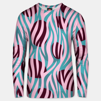 Thumbnail image of Pink Zebra Madness Unisex Sweater, Live Heroes