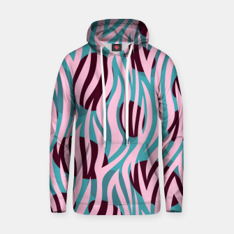 Thumbnail image of Pink Zebra Madness Hoodie, Live Heroes