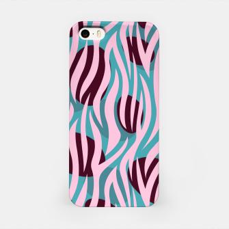 Thumbnail image of Pink Zebra Madness iPhone Case, Live Heroes