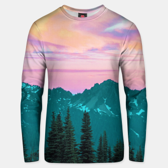 Thumbnail image of Holographic Sky Unisex sweater, Live Heroes