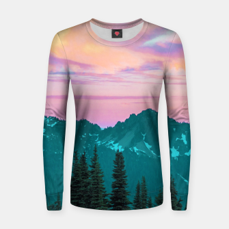 Thumbnail image of Holographic Sky Women sweater, Live Heroes