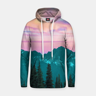 Thumbnail image of Holographic Sky Hoodie, Live Heroes