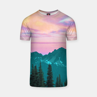 Thumbnail image of Holographic Sky T-shirt, Live Heroes