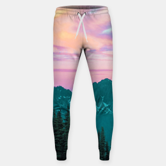 Thumbnail image of Holographic Sky Sweatpants, Live Heroes