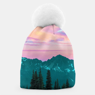 Thumbnail image of Holographic Sky Beanie, Live Heroes