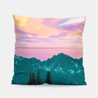 Thumbnail image of Holographic Sky Pillow, Live Heroes