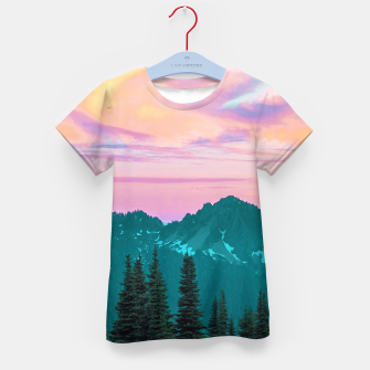 Thumbnail image of Holographic Sky Kid's t-shirt, Live Heroes