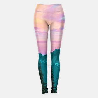 Thumbnail image of Holographic Sky Leggings, Live Heroes