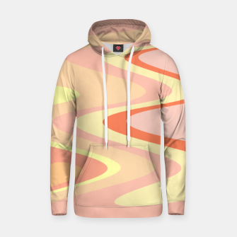 Miniatur River of dreams, pink and yellow waves, colorful stream of water Hoodie, Live Heroes