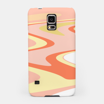 Miniatur River of dreams, pink and yellow waves, colorful stream of water Samsung Case, Live Heroes