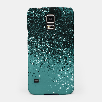 Teal Mermaid Ocean Glitter #3 #shiny #decor #art Handyhülle für Samsung miniature