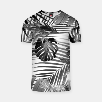 Miniatur Tropical Jungle Leaves Siesta #4 #tropical #decor #art T-Shirt, Live Heroes