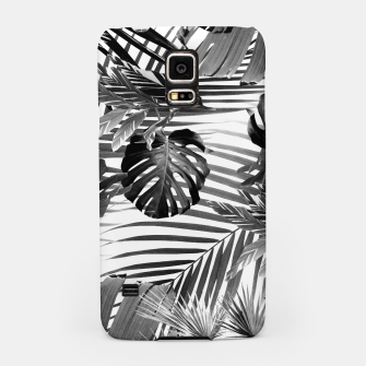 Tropical Jungle Leaves Siesta #4 #tropical #decor #art Handyhülle für Samsung miniature