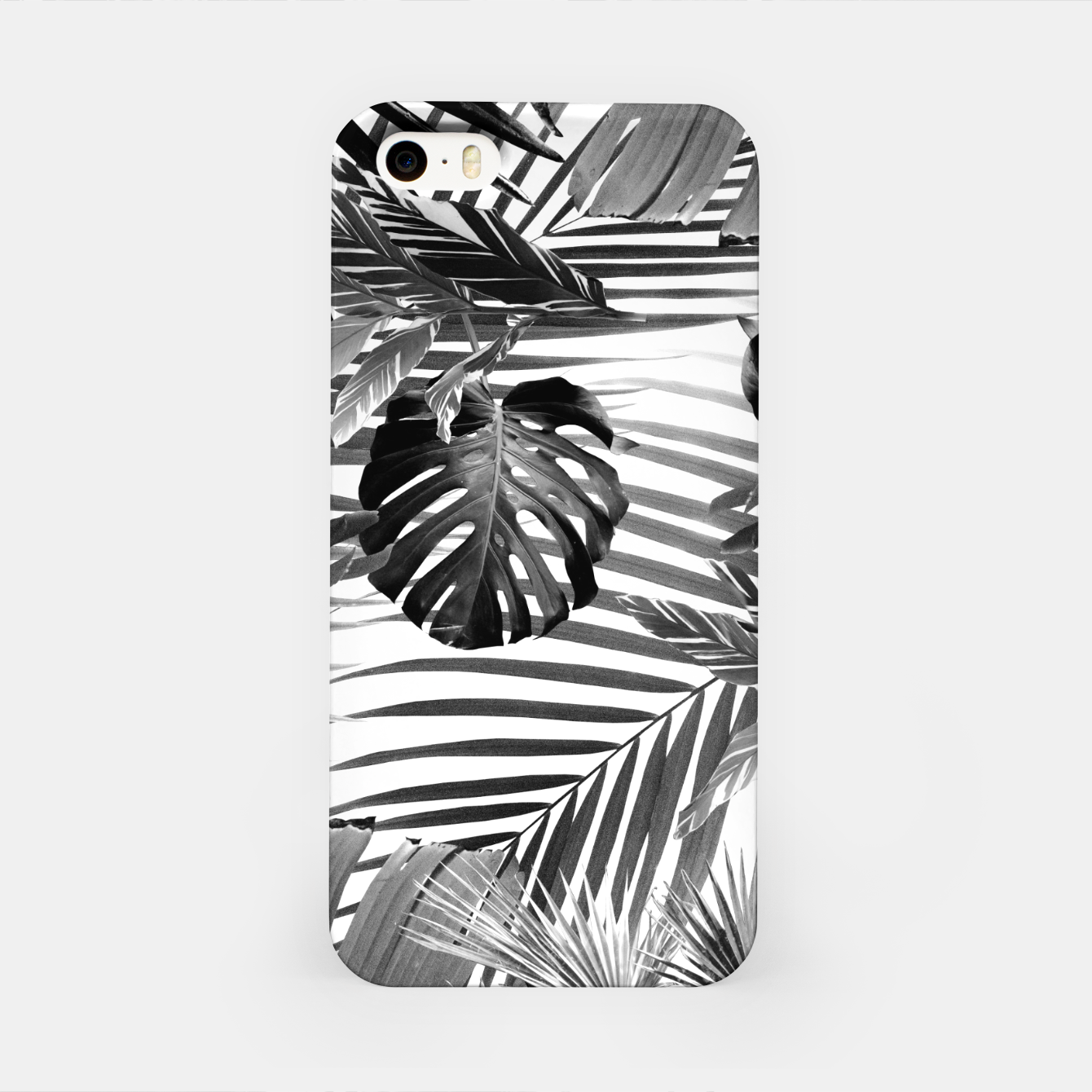 Image of Tropical Jungle Leaves Siesta #4 #tropical #decor #art iPhone-Hülle - Live Heroes