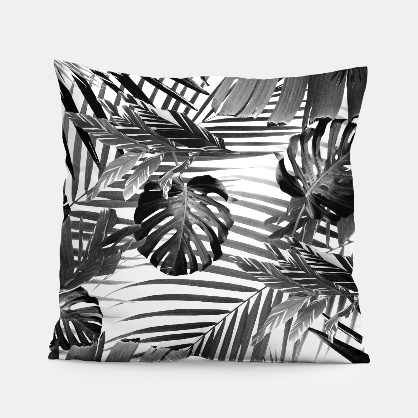 Image of Tropical Jungle Leaves Siesta #4 #tropical #decor #art Kissen - Live Heroes