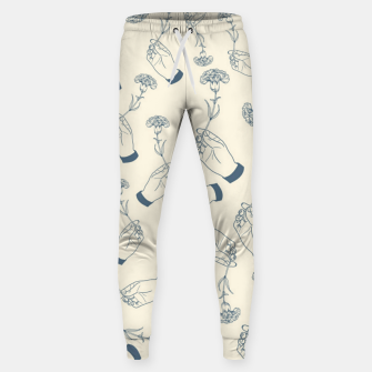 Thumbnail image of Aesthetic flowers Sweatpants, Live Heroes