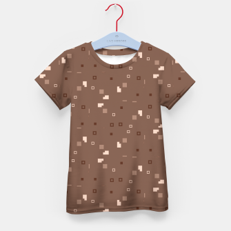 Thumbnail image of Simple Geometric Pattern 3 co Kid's t-shirt, Live Heroes