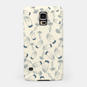 Thumbnail image of Aesthetic flowers Samsung Case, Live Heroes