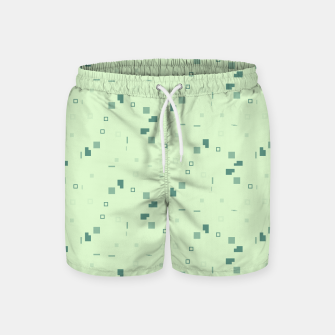 Simple Geometric Pattern 3 grl Swim Shorts thumbnail image